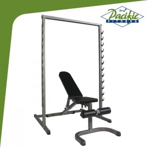 PS2201 SQUAT RACK  +  BENCH SET ( OMUZ PRES ÖZELLİKLİ )